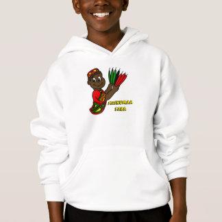 Mishumaa Saba Hoodie