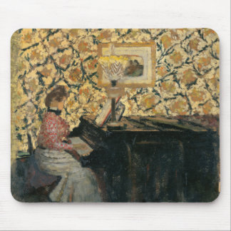 Misia at the Piano Mouse Pad