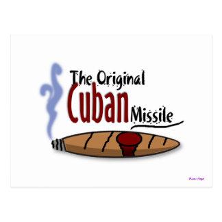 Misil cubano postal