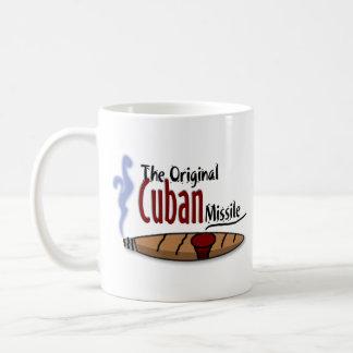 Misil cubano taza de café
