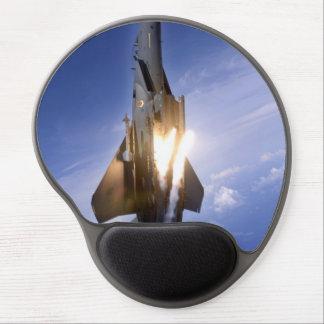 misil de lanzamiento del jet f-15 alfombrilla gel