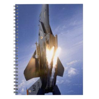 misil de lanzamiento del jet f-15 libros de apuntes