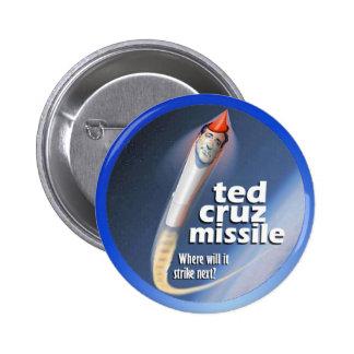 Misil de Ted Cruz Pin Redondo 5 Cm