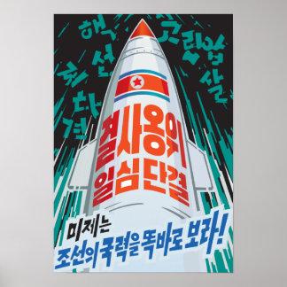 Misil norcoreano poster