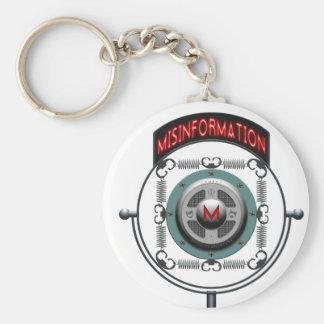 Misinformation Podcast Keychains