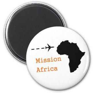 Misión África Imán Redondo 5 Cm
