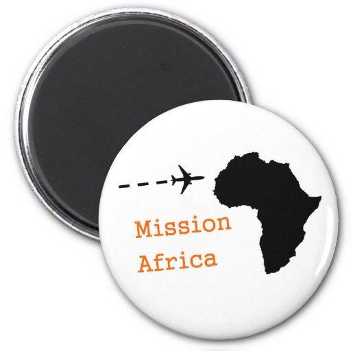 Misión África Imanes Para Frigoríficos