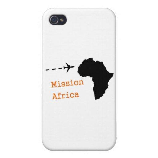 Misión África iPhone 4 Fundas