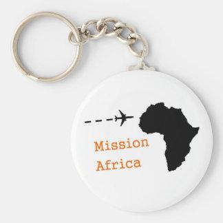 Misión África Llavero Redondo Tipo Pin