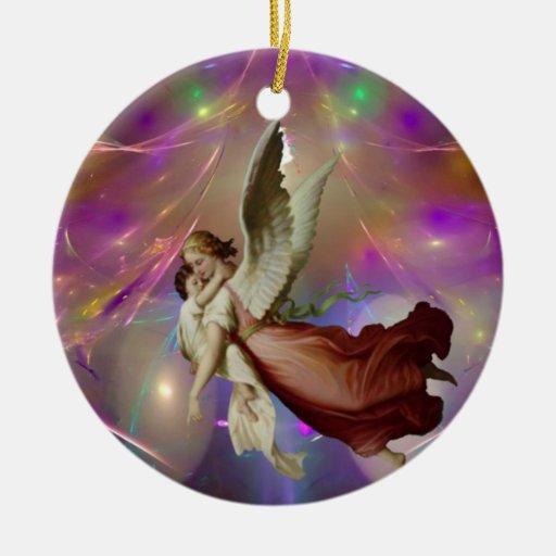 Misión angelical ornamento de reyes magos