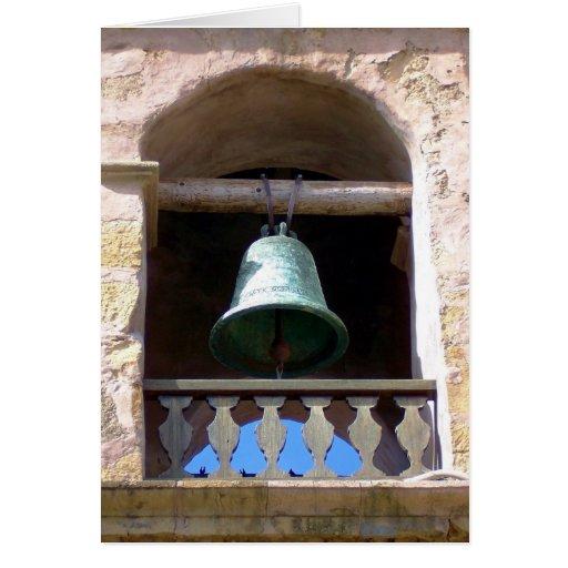 Misión Bell Tarjeta De Felicitación