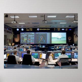 Misión Control Center Impresiones