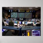 Misión Control Center Póster