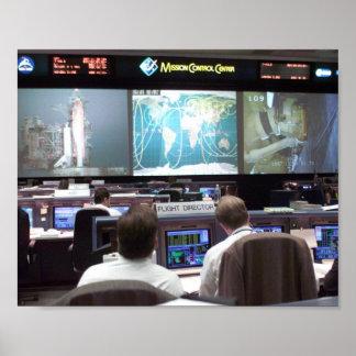 Misión Control Center (STS-102) Póster