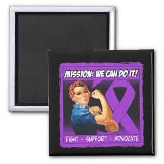 Misión de la enfermedad de Alzheimers podemos hace Imán Cuadrado