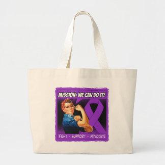 Misión de la enfermedad de la sarcoidosis podemos  bolsa tela grande