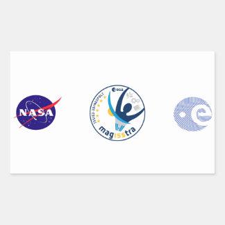Misión de MagISStra en el ISS Rectangular Altavoces
