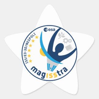 Misión de MagISStra en el ISS Colcomanias Forma De Estrellaes