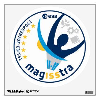 Misión de MagISStra en el ISS Vinilo Adhesivo