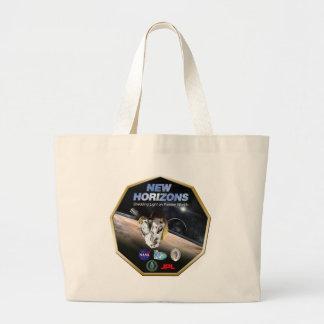 ¡Misión de New Horizons en Plutón! Bolsas De Mano