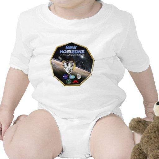 ¡Misión de New Horizons en Plutón! Camisetas