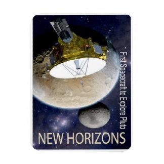 ¡Misión de New Horizons en Plutón! Imán