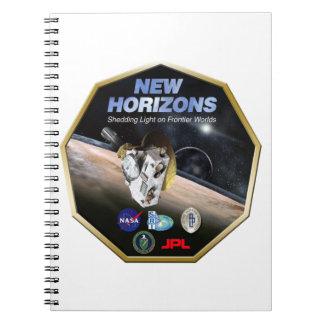 ¡Misión de New Horizons en Plutón! Libreta