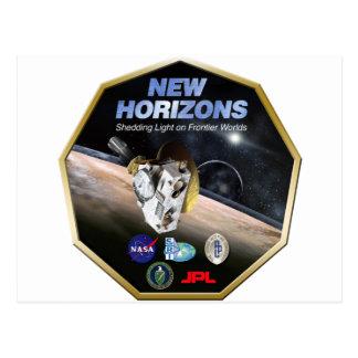 ¡Misión de New Horizons en Plutón Tarjeta Postal