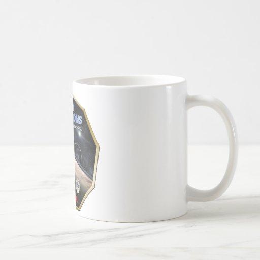 ¡Misión de New Horizons en Plutón! Tazas De Café