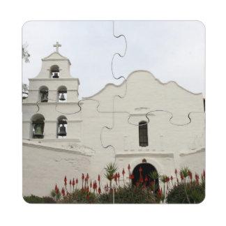 Misión de San Diego Posavasos De Puzzle