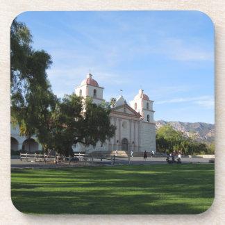 Misión de Santa Barbara, California Posavasos De Bebida