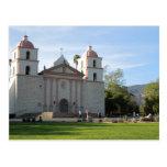 Misión de Santa Barbara, California Postal
