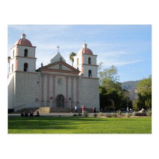 Misión de Santa Barbara, California Tarjetas Postales