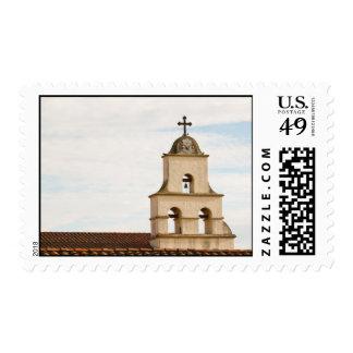 Misión de Santa Barbara del campanario Timbres Postales