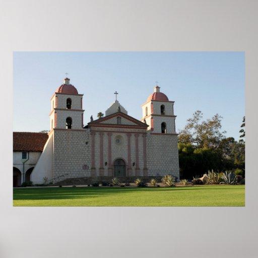 Misión de Santa Barbara Póster
