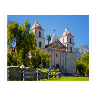 Misión de Santa Barbara Tarjeta Postal