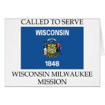 Misión de Wisconsin Milwaukee LDS llamada para ser Felicitacion