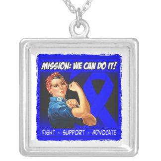 Misión del cáncer rectal podemos hacerla colgantes personalizados