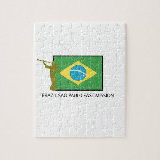 MISIÓN DEL ESTE LDS DEL BRASIL SAO PAULO ROMPECABEZA