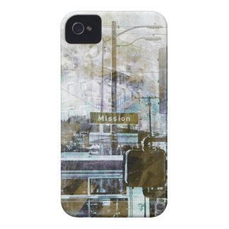 Misión del La aka el ambiente del distrito de San Case-Mate iPhone 4 Fundas