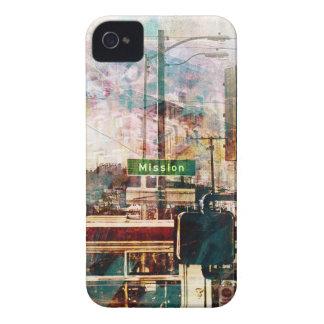 Misión del La aka el ambiente del distrito de San Case-Mate iPhone 4 Carcasa