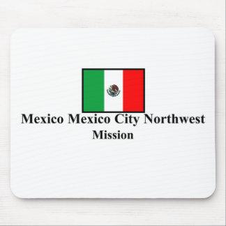 Misión del noroeste Mousepad de México Ciudad de M