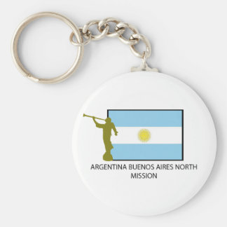 MISIÓN DEL NORTE LDS DE LA ARGENTINA BUENOS AIRES LLAVERO REDONDO TIPO PIN