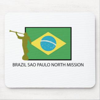 MISIÓN DEL NORTE LDS DEL BRASIL SAO PAULO TAPETE DE RATON
