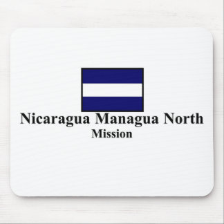 Misión del norte Mousepad de Nicaragua Managua LDS
