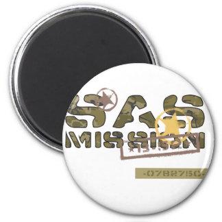 Misión del SAS Imán Redondo 5 Cm