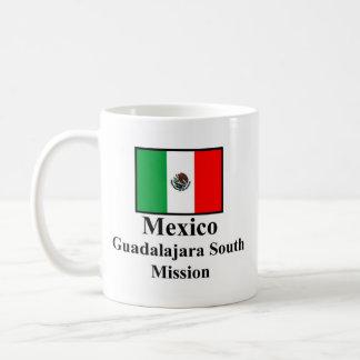 Misión del sur Drinkware de México Guadalajara Taza