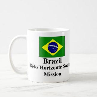 Misión del sur Drinkware del Brasil Belo Horizonte Taza Clásica