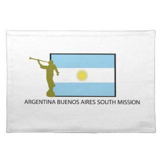 MISIÓN DEL SUR LDS DE ARGENTINA BUENOS AIRES MANTEL