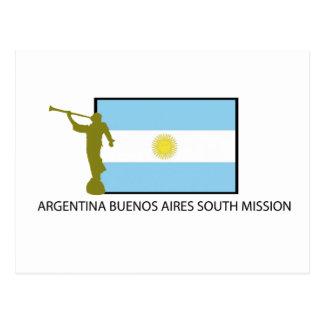MISIÓN DEL SUR LDS DE ARGENTINA BUENOS AIRES POSTALES